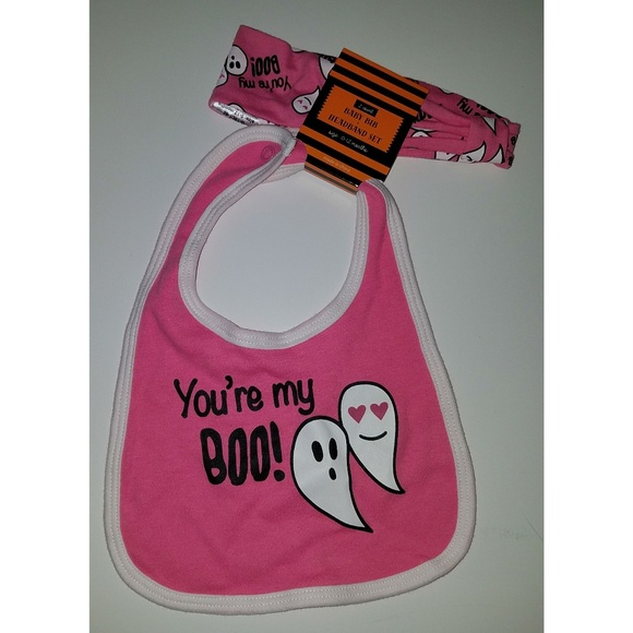 NWT Terry Halloween Baby Bibs Infant Bib 3 styles to choose from